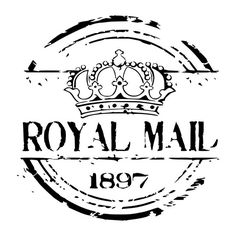 London Royal Crown Vintage / Primitive Stencil- 5mil Matte Mylar Stencil. The stencil does not have sticky adhesive, but works well with any standard adhesive spray. Great for stenciling on fabric, paper, and walls!