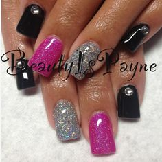 BeautyIsPayne shellac nails