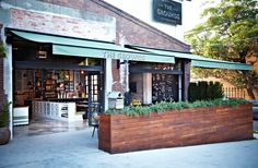 Love the color scheme and the mixture of industrial and 'Martha Country' interior design into this refurbished building. (From DailyImprint.blogspot.com - dated 10/9/12)