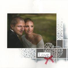 Je m'étais promis de faire une page avec une photo du mariage de Stephen et Valérie pour leur offrir et c'est fait ! Ils ne leur restent plus qu'à l'encadrer. Bon dimanche