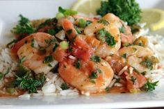 Spicy Shrimp Scampi with Muir Glen® Organic Tomatoes Recipe