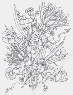 """Weedy Friends""  - an adult coloring page in honor of 4-20"