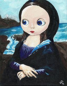 Mona Lisa Smiled [Noelle Hunt] (Gioconda / Mona Lisa)🌑Fosterginger.Pinterest.Com🌑More Pins Like This One At FOSTERGINGER @ PINTEREST 🌑No Pin Limits🌑でこのようなピンがいっぱいになる🌑ピンの限界🌑