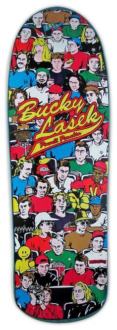 """Powell Peralta Bucky Lasek """"Spectators"""" Skateboard Deck"""