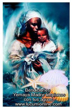Yemaya madre de el mundo bendicenos!