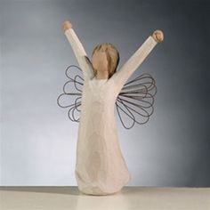 Courage Angel Willow Tree