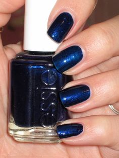 Essie. Midnight Cami. On my nails now.