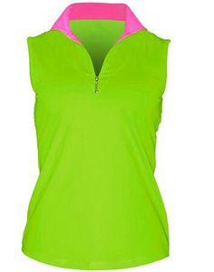Jofit Sleeveless Fold Over Mock ~