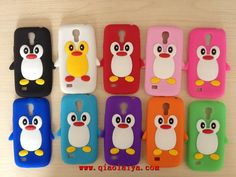 1 Piece Lovely Penguin Animal Soft Silicone Back Cover Case for Samsung Galaxy mini Phone Case Free Samsung Galaxy S4, Telephone Samsung, Galaxy S4 Mini, Galaxy Note, Iphone 7, Monitor, Phone Cases, Polyvore, Images