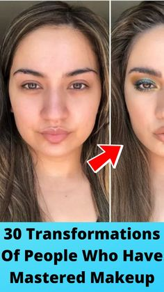 30 #Transformations Of #People Who Have #Mastered Makeup