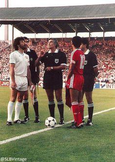 Benfica - PSV (Shéu e Gerets). Final da Taça dos Campeões Europeus de 1988.