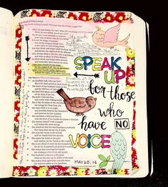 Today reading from @shereadstruth Proverbs 31:8-9