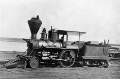 The tiny San Gabriel was the first steam locomotive to haul freight and passengers between Los Angeles and San Pedro. #Freight #History