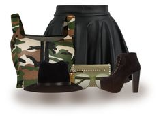 """""""Salute Salute"""" by abigaillieb ❤ liked on Polyvore featuring WearAll, Valentino, Sif Jakobs Jewellery, rag & bone and Charlotte Russe"""