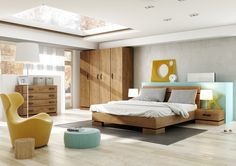 sypialnia KARDAMON bedroom #bedroom #sypialnia #mebledosypialni #bedroomfurniture #meble #furniture #lozko #bed #design #interior #wnetrza #furnitureproducer #dignet #dignetlenart #meblekardamon