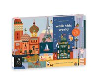 Walk This World by Lotta Nieminen  Celebrate global culture as you explore the everyday similarities and differences of life around the world. Peek through windows and doors by opening the many hidden lift-flaps from page to page.