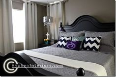 I have to repaint our bedroom furniture black. I just love it!