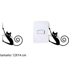 Regalos que encantan: Vinilo interruptor Gato Bamboo