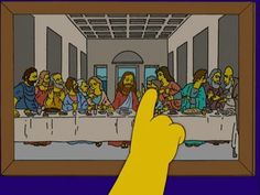 Simpsons supper