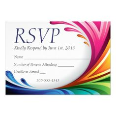 RSVP Elegant Swirling Rainbow Splash - 4 Rainbow Splash & Wedding Rings Matching Wedding Set #lgbtq #gaymarriage #gaywedding