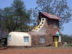 A shoe house? Really!!!
