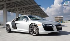 Audi R8 White HD Wallpapers