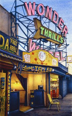 Coney Island: an American dreamland – in art and pictures