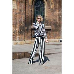 Street Style Australia Fashion Week Spring 2013 ❤ liked on Polyvore
