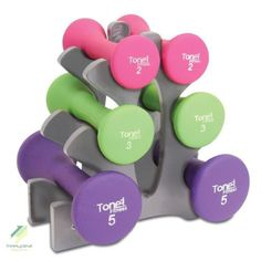 Women Gym Exercise Training Hand Weights Dumbbells Set Workout Fitness 20lb | eBay
