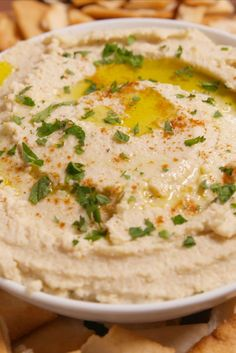 Cauliflower Hummus Is Our Newest Obsession  - Delish.com