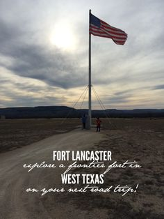 Looking for an educational stop along Interstate 10 to stretch the legs. Fort Lancaster State Historical Park,