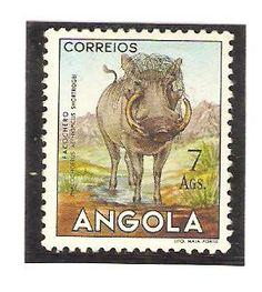 Angola 1953, 7 Ags. Warthog.