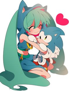 Sonic and Miku again Hatsune Miku Vocaloid, Sonic Franchise, Sonic Fan Art, Fanart, Cartoon Crossovers, Cute Pokemon, Super Smash Bros, Cute Art, Kawaii Anime