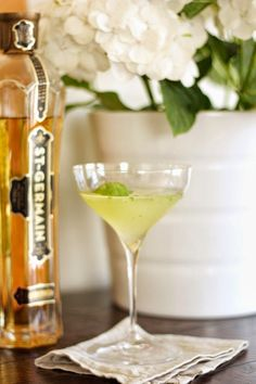basil, lemon, vodka & st. germain