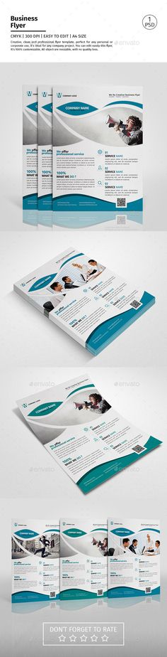 A4 Corporate Business Flyer Template #design Download: http://graphicriver.net/item/a4-corporate-business-flyer-template-vol-09/12603580?ref=ksioks