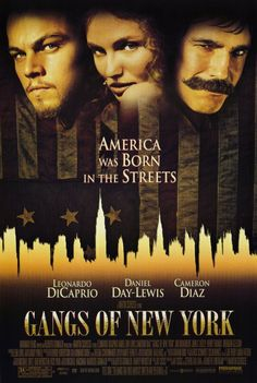 Gangs of New York, ok I lied. THIS is my favorite movie of all time. Mainly because Daniel Day Lewis is in it. :)