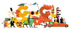 Unique Illustrations by Sam Vanallemeersch: http://www.playmagazine.info/unique-illustrations-by-sam-vanallemeersch/