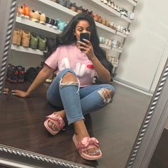 sherlinanym on We Heart It Source by simplytyonee outfits Dope Outfits, Casual Outfits, Summer Outfits, Fashion Outfits, Fashion Moda, Womens Fashion, Look Jean, Look Formal, Vetement Fashion