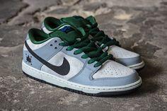 79445d9618ca Nike Dunk Low Pro SB (Gorge Green Dove Grey) - Sneaker Freaker