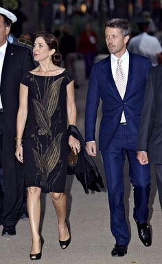 August 2010: Queen Ingrid of Denmark Memorial Concert An LBD makes for a chic option for a night out.