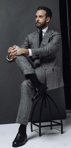 Mens Fashion Blog, Mens Fashion Suits, Mens Suits, Men's Fashion, Business Casual Men, Business Fashion, Men Casual, Modern Gentleman, Gentleman Style