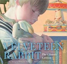 The Velveteen Rabbit by Margery Williams, Charles Santore