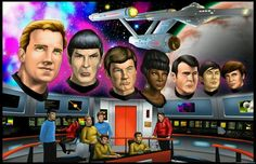 You can never have too many Star Trek TOS images. Casting Pics, Starship Enterprise, The Final Frontier, Reaching For The Stars, Star Trek Tos, Live Long, The Originals, Classic, Fun