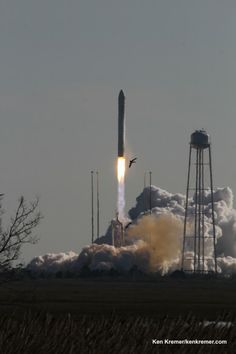 Antares Private Rocket Thunders off Virginia Coast bound for Space Station – Marks 2nd US Commercial Launch This Week