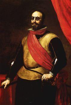 José de Ribera - Portrait of a Knight of Santiago (ca. 1635)