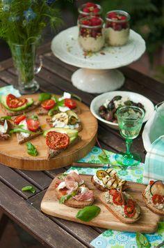 Bruschetta dinner party | Gourmantine