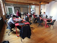 Great coworking space in Toronto: Bento Miso - Coworking for people working in Tech, Games and Food Start-Ups