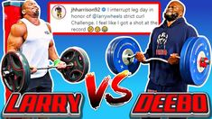 NFL Player Challenges Larry Wheels to Strict Curl - YouTube James Harrison, Legs Day, Biceps, Larry, Curls, Bodybuilding, Nfl, Challenges, Baseball Cards