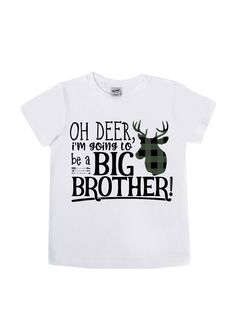 Oh Deer, I'm Going to be a Big Brother!