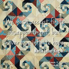 Keep the faith. The most amazing things in life tend to happen right at the moment you're about to give up hope. Virginia Reel quilt made by me back in 1990 something. If I remember correctly there was political upheaval happening then too. We survived, life went on and so will we now. . . #quilt #quilting #patchwork #quiltville #bonniekhunter #scrapquilt #patrioticquilt  #deepthoughts #wisewords #wordsofwisdom #quiltvillequote #quote #inspiration #america #usa #hope